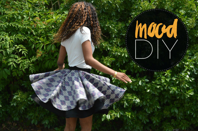 96bd43532aa9 Circle skirts always seem to be in style. They're fun. comfy, and they look  great on nearly every body type! Did you know though, that you can make a  full ...