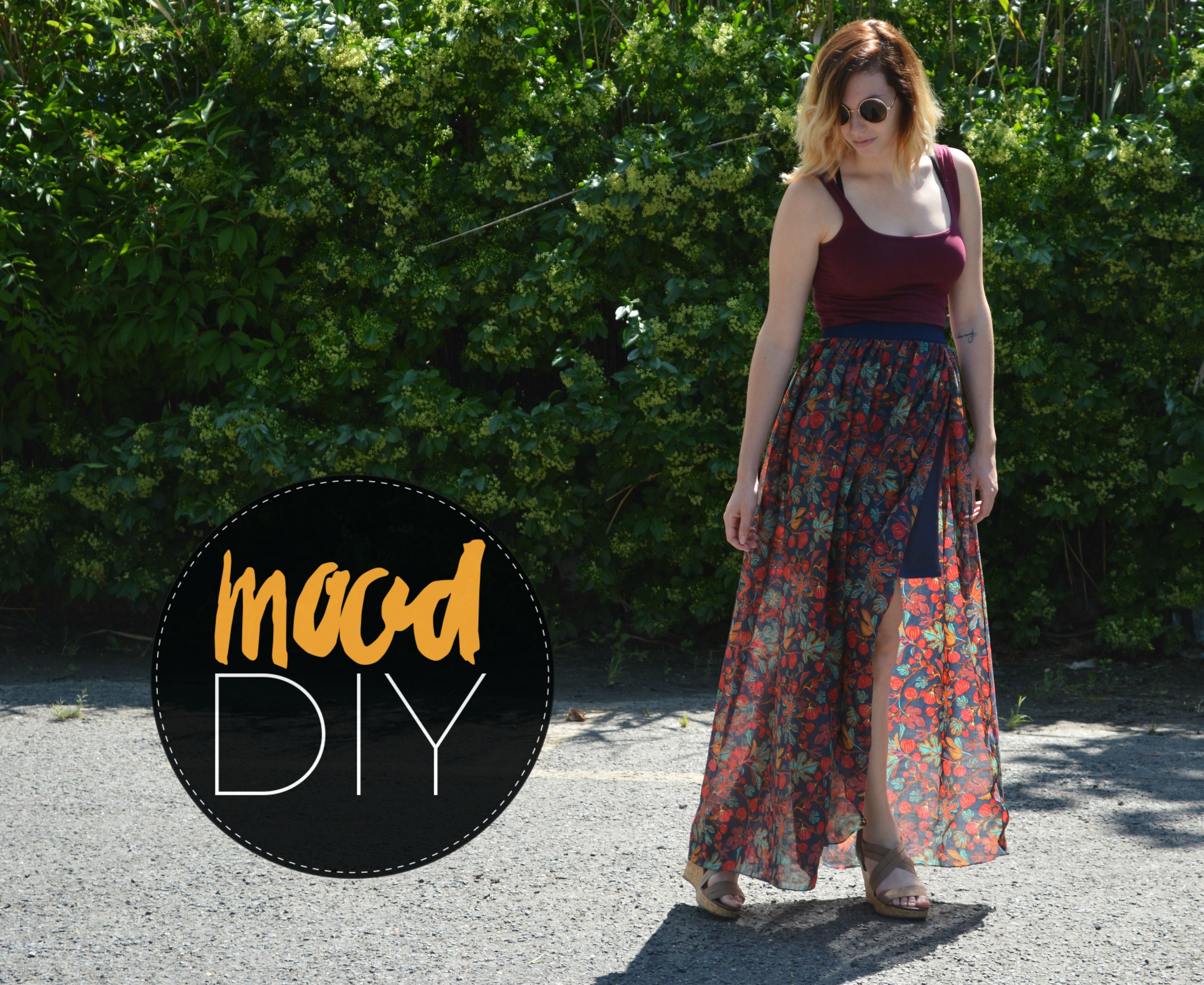 Mood Diy How To Sew A Maxi Skirt Mood Sewciety