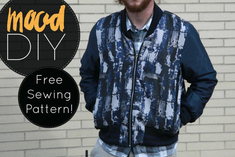 Mood Diy Free Reversible Bomber Jacket Sewing Pattern Mood Sewciety