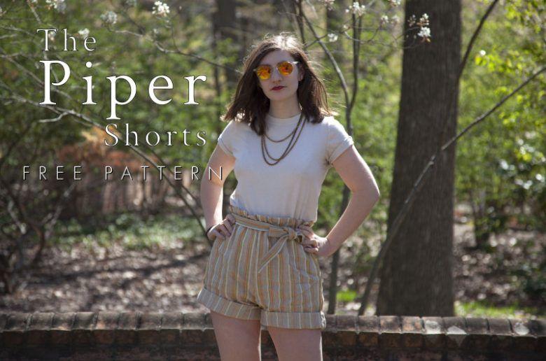free shorts sewing pattern