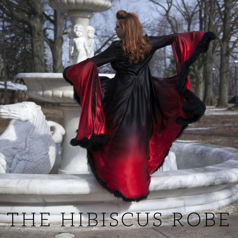 The Hibiscus Robe