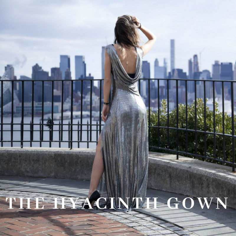 The Hyacinth Gown