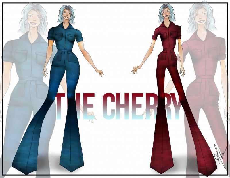 The Cherry Jumpsuit - Free Sewing Pattern - Mood Sewciety
