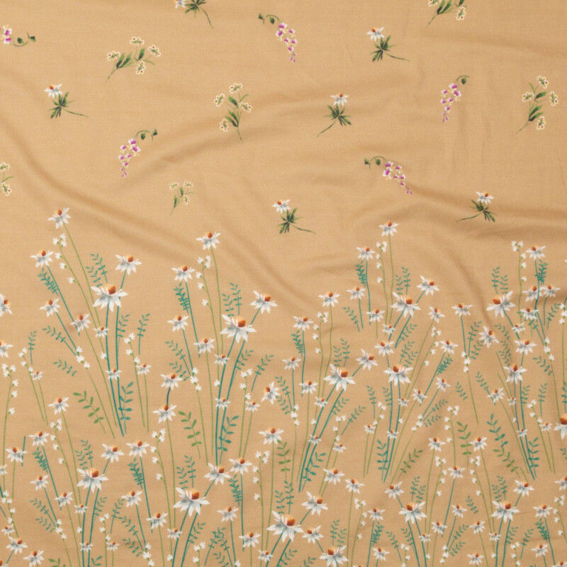 Mood Exclusive Brown Sugar Growing Distant Cotton Voile