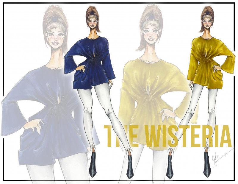 The Wisteria Shirt - Free Sewing Pattern - Mood Sewciety