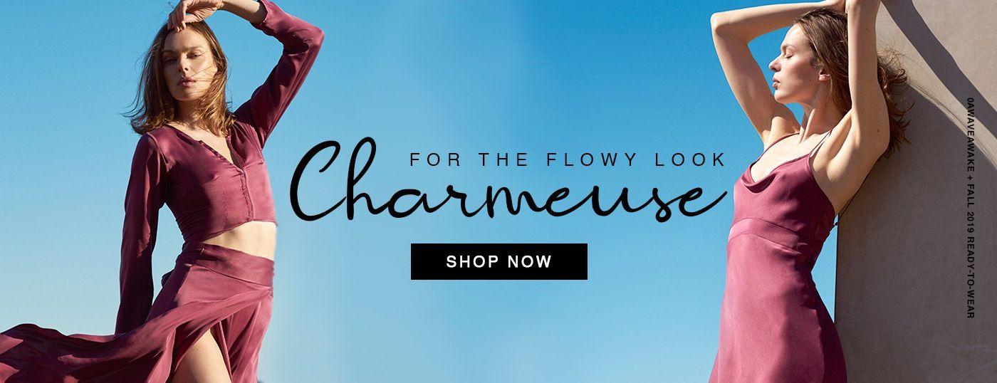 Shop Charmeuse Fabrics