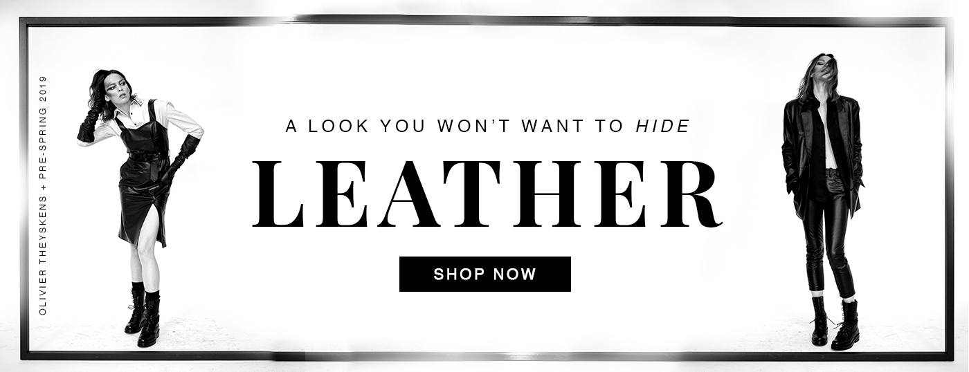 Shop Real Leather, Fur and Suede
