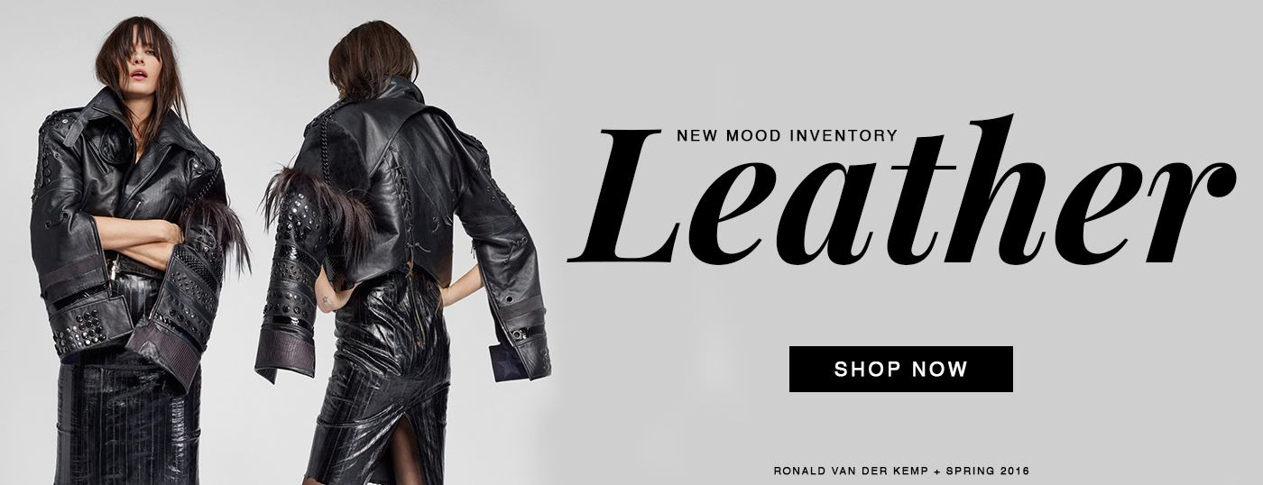 New Swatchable and Re-Orderable Leather is Here! Shop Now