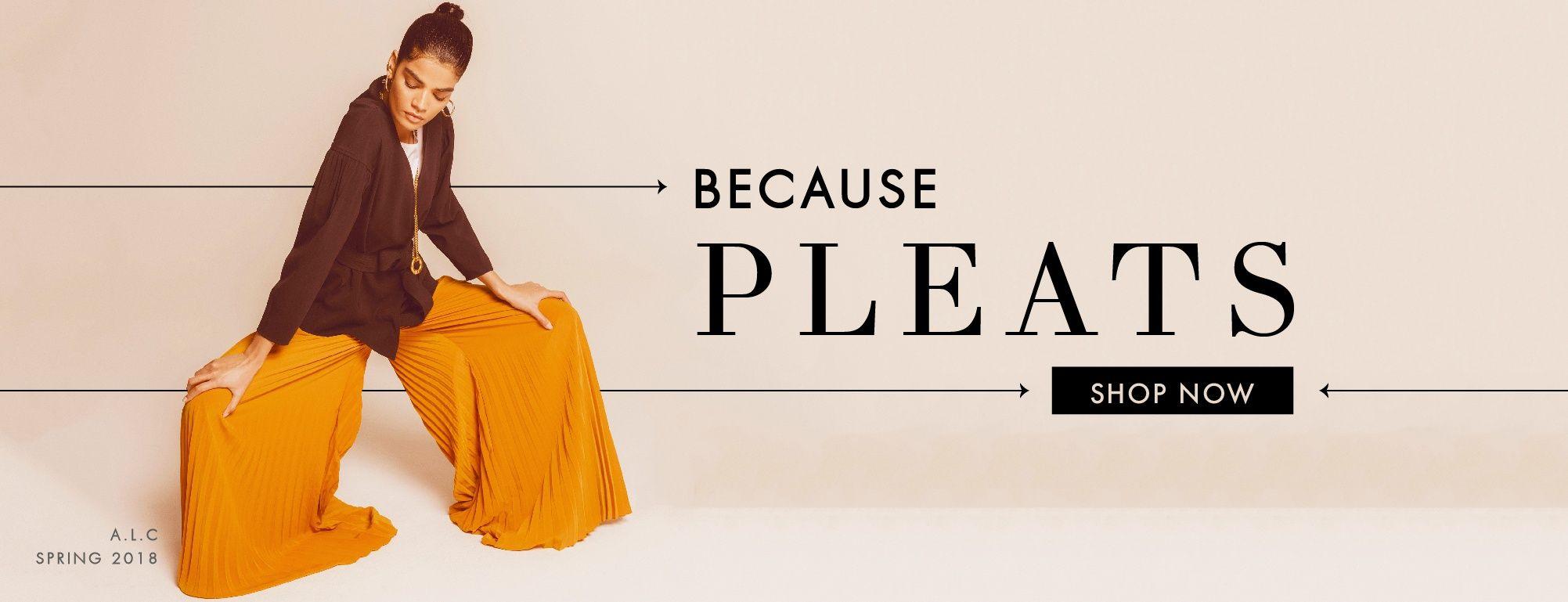 Shop Pleated Fabrics