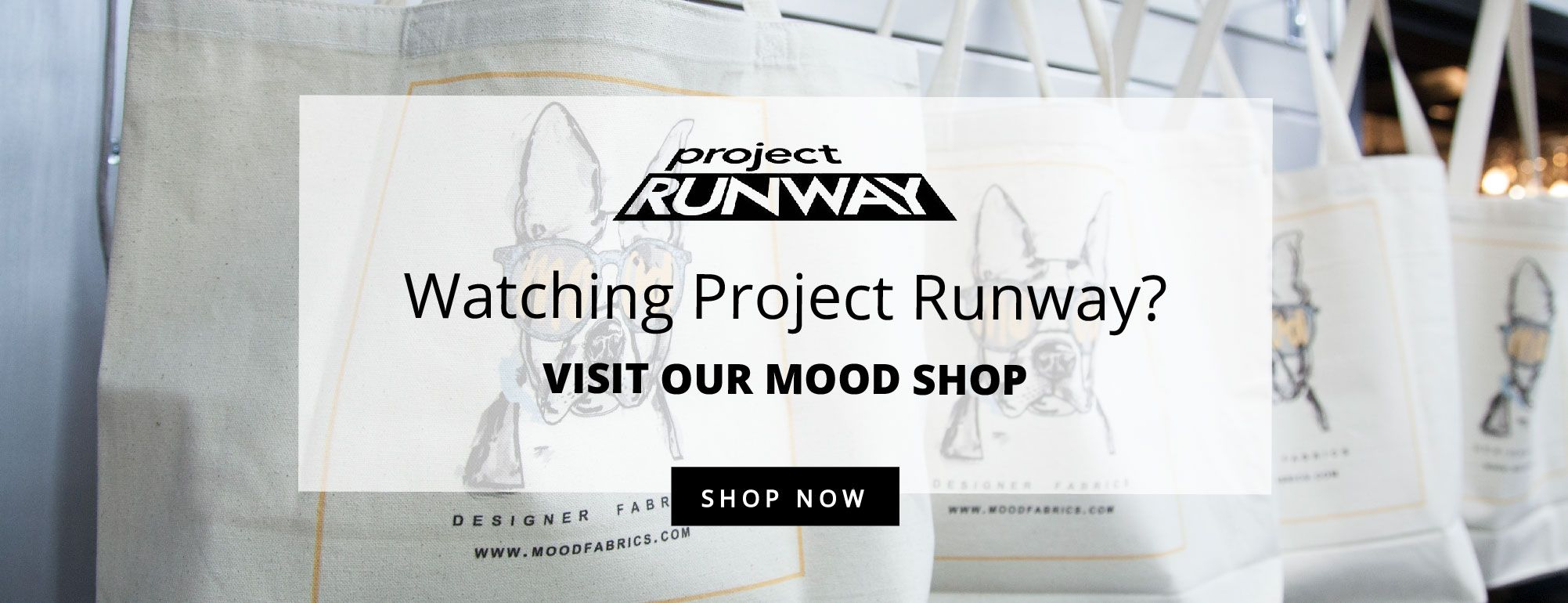 Watching Project Runway? Shop Mood Apparel
