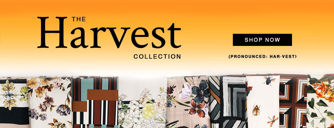 Shop The Harvest Collection - Our Latest Line of Mood Exclusive Fabrics