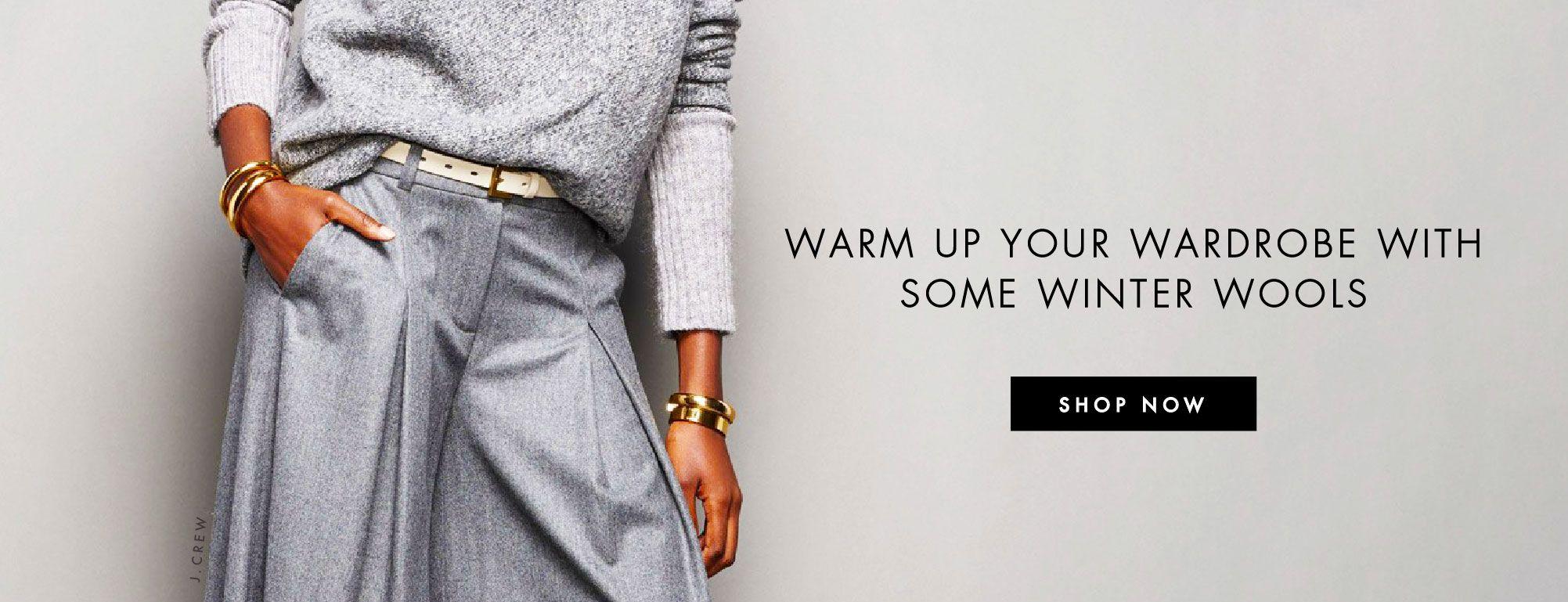 Shop Wool Fabrics