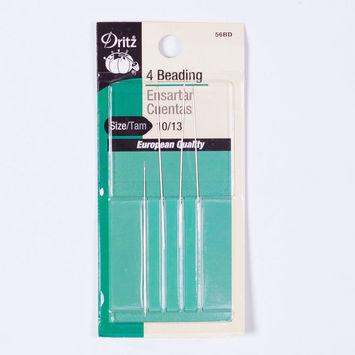Dritz 4 Beading Hand Needles