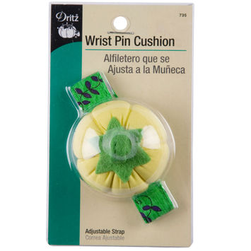 Dritz Wrist Pin Cushion w/ Adjustable Strap