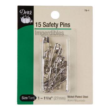 Size 1-1 1/16 Dritz Safety Pins
