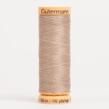 2700 Dover Beige 100m Gutermann Cotton Thread
