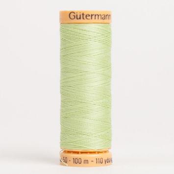 8975 Pastel Green 100m Gutermann Cotton Thread