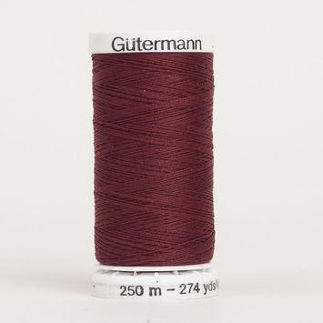 450 Burgundy 250m Gutermann Sew All Thread
