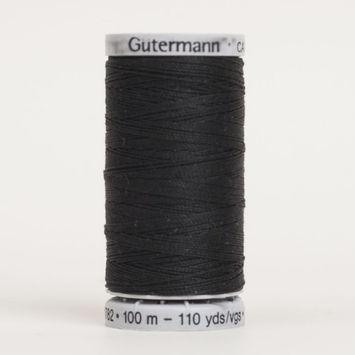 000 Black 100m Gutermann Extra Strong Thread