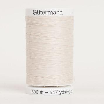 22 Egg Shell 500m Gutermann Sew All Thread