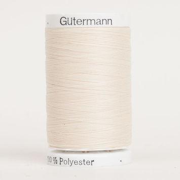 800 Champagne 500m Gutermann Sew All Thread