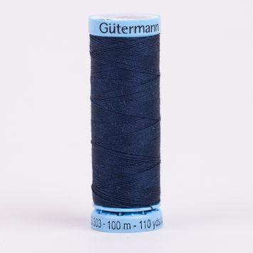 339 Dark Midnight 100m Gutermann Silk Thread