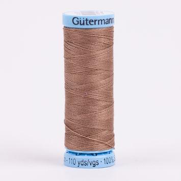 180 Dark Beige 100m Gutermann Silk Thread