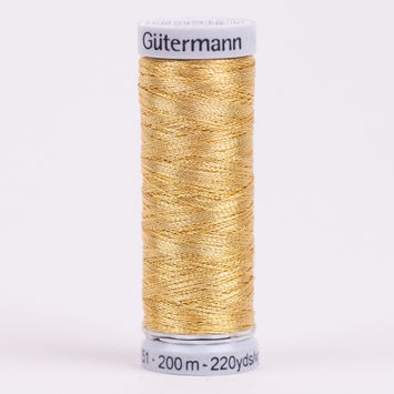 9970 Gold 200m Gutermann Metallic Thread