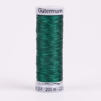 8095 Green 200m Gutermann Metallic Thread