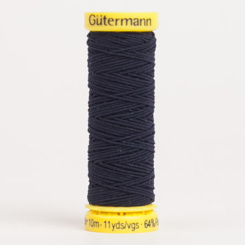 5262 Navy 10m Gutermann Elastic Thread