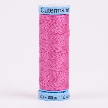 733 Pink 100m Gutermann Silk Thread