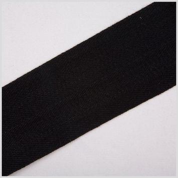 Black Cotton Twil Tape - 2