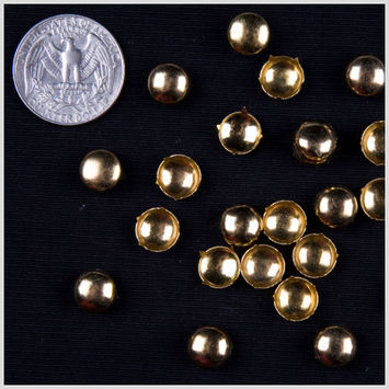 3/8 Gold Dome Nailheads