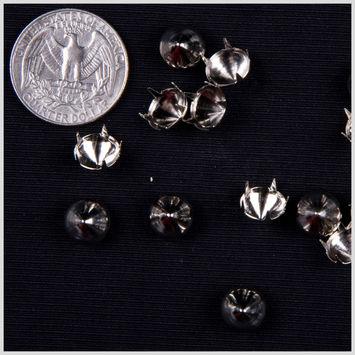 3/8 Silver Spike Nailheads
