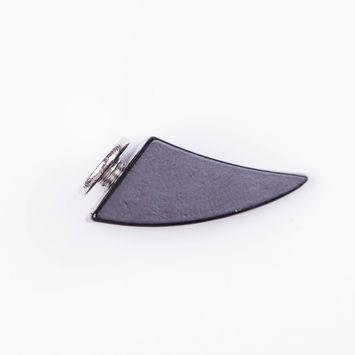 0.75 Black Nickel Claw Spike