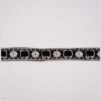 7/8 Black Gimp Braid