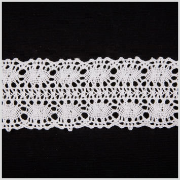 2.25 White Clunny Lace