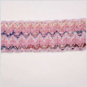 Pink Mohair Braid