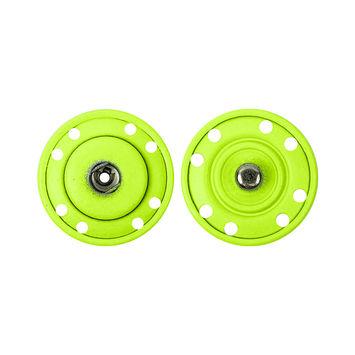 Neon Yellow Snaps - 1