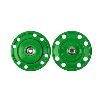 Neon Green Snaps - 1
