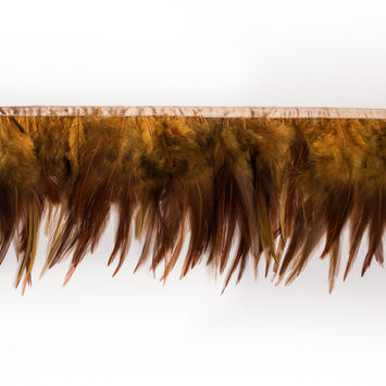 6 Emu Ombre Feather Fringe Trim