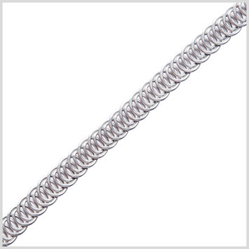 Silver Metal Boning - 12