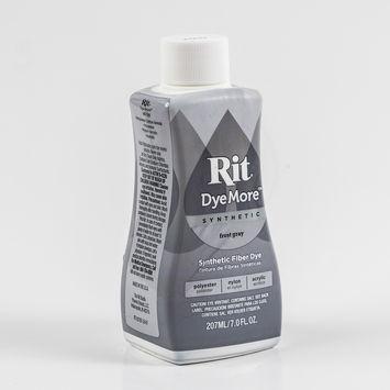 Rit DyeMore Frost Gray Synthetic Fiber Dye
