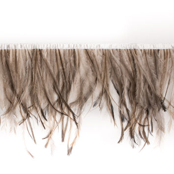 Emu Ombre Feather Fringe Trim - 6