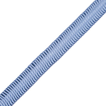 Italian Colonian Blue Deep Knife Pleated Trimming - 1