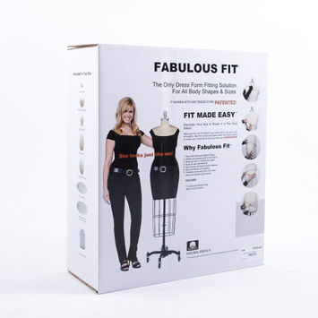 Extra Large Fabulous Fit Fitting System - Size 20 and up