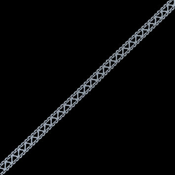 White European Cotton Crochet Trim - 0.5
