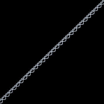 White European Cotton Crochet Trim - 0.375