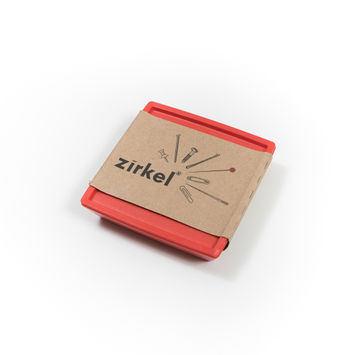 Zirkel Magnetic Pin Holder in Red