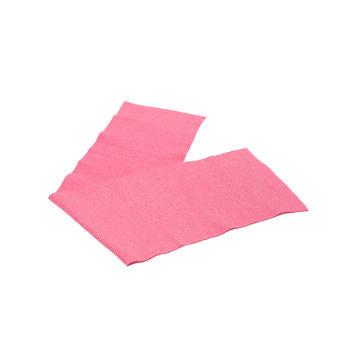 "Hot Pink Sparkle Rib Knit Trim 7"" x 29""-121026-10"
